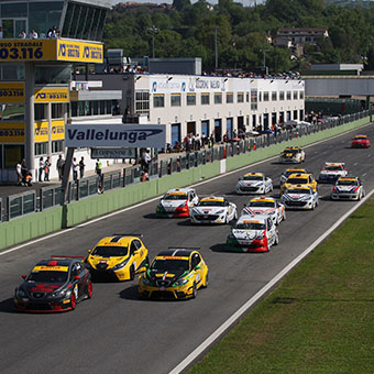 Vallelunga race circuit