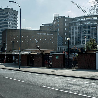 Studios 1-3 de la TV BBC Phase 2