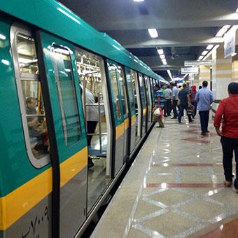 Línea de Metro 3 de El Cairo
