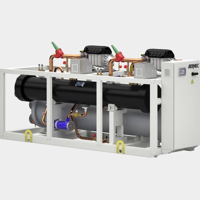 Enfriadoras y bombas de calor refrigeradas por agua